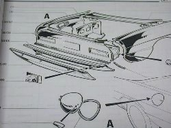 alfa romeo 1750 spider veloce parts catalog(body) : italian auto