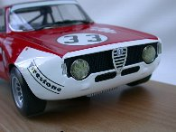 1/14 Alfa Romeo GTA Juniorスケールモデル by Carlo Brianza
