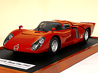 1/12 Alfa Romeo TIPO33/2 Road Version ミニチュアモデル