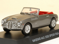 MASERATI Collection N.10 A6G 2000 SPYDER FRUA 1952ミニチュアモデル