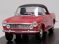 1/43 FIAT New Story Collection No.23 FIAT 1600S Cabriolet ミニチュアモデル