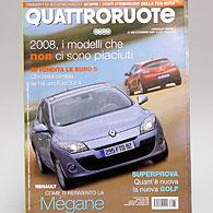 Quattroruote 2008年12月号