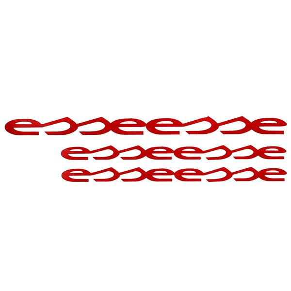 Abarth Esseesse Logo Sticker Set Italian Auto Parts