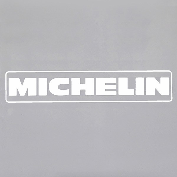 MICHELINロゴ切り文字タイプステッカー<br><font size=-1 color=red>11/19到着</font>