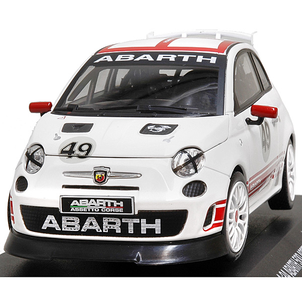 1/24 ABARTH NEW 500 ASSETTO CORSEミニチュアモデル