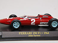 1/43 Ferrari F1 Collection No.13 158F1ミニチュアモデル