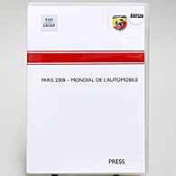 ABARTH 2008 Paris Salone Press Kit (Germany)