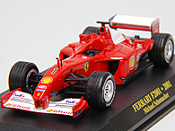 1/43 Ferrari F1 Collection No.22 F2001 No.1ミニチュアモデル