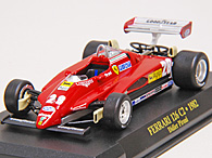 1/43 Ferrari F1 Collection No.25 126C2 No.28ミニチュアモデル