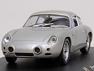1/43 ABARTH Collection No.34 PORSCHE 356 CARRERA GTLミニチュアモデル