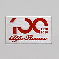 Alfa Romeo純正100周年記念ピンバッジ<br><font size=-1 color=red>04/13到着</font>