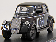 1/43 1000 MIGLIA Collection No.36 LANCIA ARDEA IV SERIE 1952年ミニチュアモデル