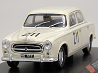 1/43 1000 MIGLIA Collection No.37 PEUGEOT 403ミニチュアモデル