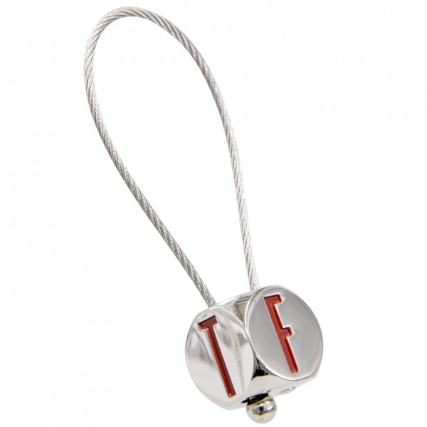 FIAT Cube Shaped Keyring<br><font size=-1 color=red>10/03到着</font>