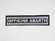 OFFICINE ABARTHワッペン