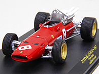 1/43 Ferrari F1 Collection No.64 312F1 1967年Chris Amonミニチュアモデル