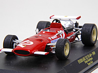 1/43 Ferrari F1 Collection No.69 312 F1-69 PEDRO RODRIGUEZミニチュアモデル