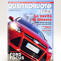 Quattroruote 2011年3月号