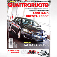 Quattroruote 2011年4月号