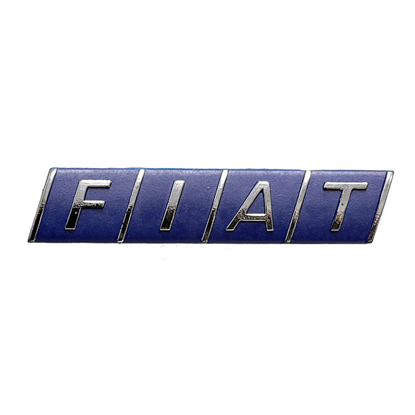 FIAT純正ロゴエンブレム<br><font size=-1 color=red>08/20到着</font>
