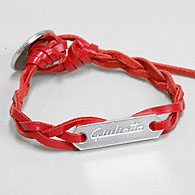 Alfa Romeo Giulietta Leather Bracelet (Red)<br><font size=-1 color=red>10/13到着</font>