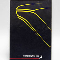 LAMBORGHINI YEAR BOOK  1990年版