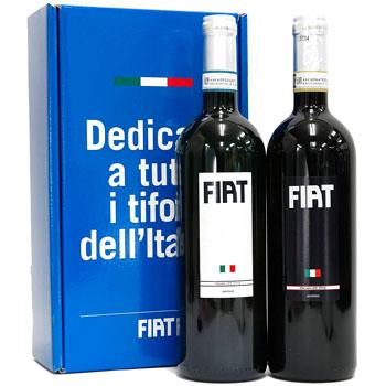FIATワインセット(赤&白TIFOSI D'ITALIAギフトボックス)