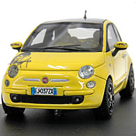 1/43 FIAT NEW 500 Lupin The 3rdミニチュアモデル by Racing 43
