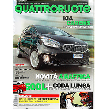 Quattroruote May 2013