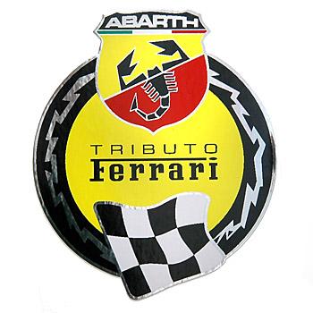 Abarth 695 Tributo Ferrari Sticker Italian Auto Parts