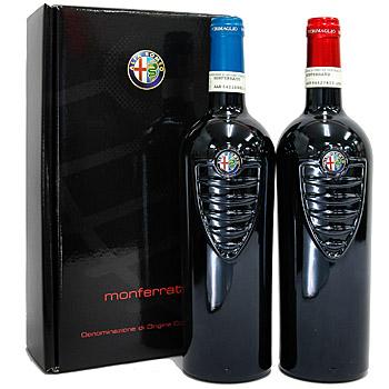 アルファロメオ ワインセット 赤(2012)&白(2011)/ギフトボックス入り