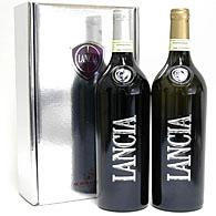 LANCIAワインMONFERATO DOC (赤2012&白2013)/ギフトボックス入り