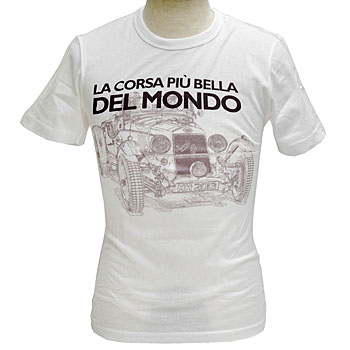 1000 MIGLIAオフィシャルTシャツ-THE MOST BEAUTIFUL RACE IN THE WORLD-