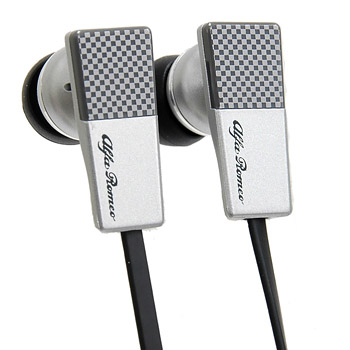 Alfa Romeo Earphone -MiTo/Silver-