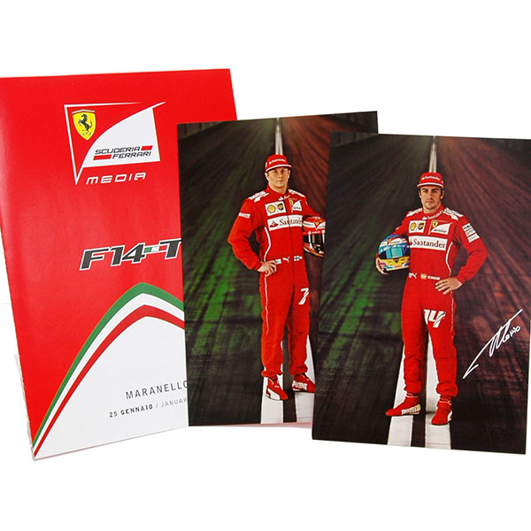 Scuderia Ferrari F14-T Leaflet&Drivers Card Set-2nd Edition-