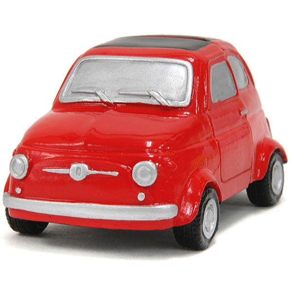 FIAT 500 Magnet Miniature Model(Red)<br><font size=-1 color=red>10/11到着</font>