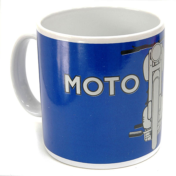 MOTO GUZZI Official Mug Cup(Blue)