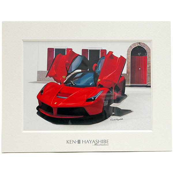 La Ferrari Illustration by 林部研一