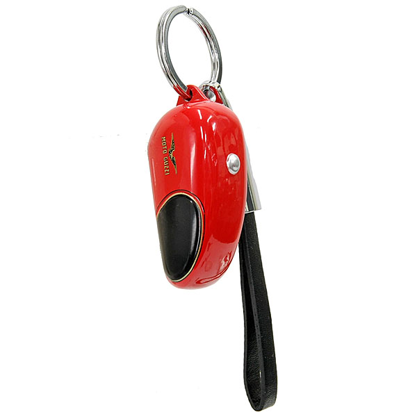 MOTO GUZZI Official Keyring-Tank Shaped/Red-