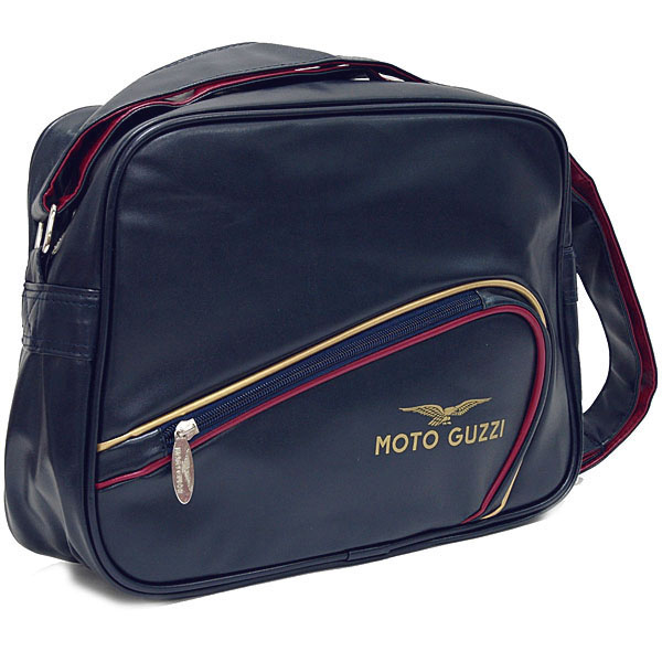 MOTO GUZZI Official Tank Shaped Schoulder Bag(navy)