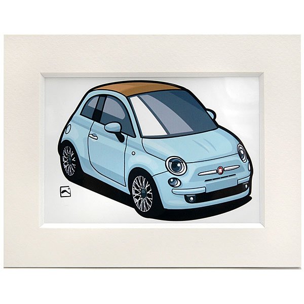FIAT 500C���⡼�륤�饹�ȥ졼�����(�������֥롼) by ��������<br><font size=-1 color=red>09/25����</font>