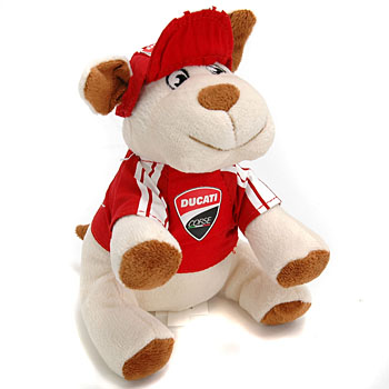 DUCATI CORSE Official PLUSH DOG Mascot