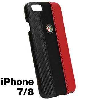 Alfa Romeo iPhone7/8 Case-Stripe-(BLACK)
