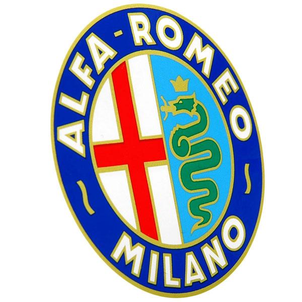 Alfa Romeo MILANO Emblem Sticker(65mm) : Italian Auto