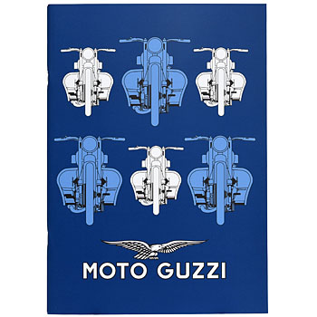 MOTO GUZZI Official A4 Note(Blue)