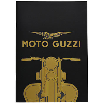 MOTO GUZZI Official A4 Note (Black)