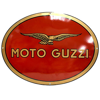 MOTO GUZZI Official Sign Boad