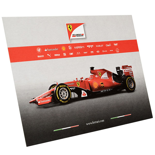 Scuderia Ferrari SF15-T Press Card