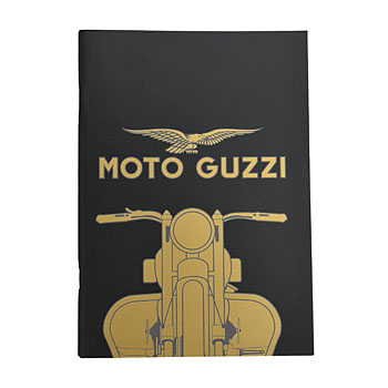 MOTO GUZZI Official Note(Black/Type B)