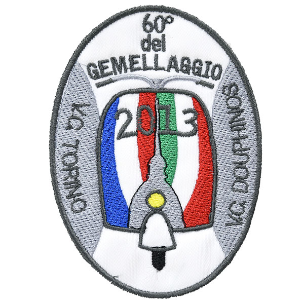 Vespa Club 60th Anniversario del gemellaggioワッペン
